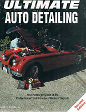 book ULTIMATE AUTO DETAILING  guide to professionals & Concours Winners' Secrets