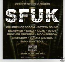 (K673) SFUK, Sampler Volume 2, 16 tracks - DJ CD