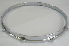 "14"" 10 hole Snare Side Die Cast Snare Drum Hoop 4 Set Build Restoration"