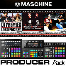 native instruments maschine kit studio mkI mkII mk1 mk2 mikro hip hop legend v1