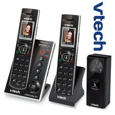 Vtech IS7121-2 Audio Video Doorbell Camera 2 Handset Answering Phone System