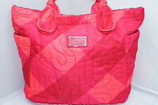 Marc By Marc Jacobs Bag Pretty Nylon Tote Poppy Pink Multi Handbag Shopper NWT