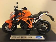 KTM 1290 Super Duke R Motorcycle 1/18 1290cc 1290R Welly