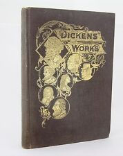 Charles Dickens Works - Volume I - 1892 Collier's Unabridged & Illustrated HC