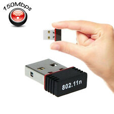 Mini Wireless Network LAN Card Adapter USB WiFi Antenna 150Mbps 802.11N/G/B
