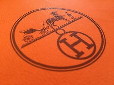 HERMES Tie Designer Paper Shopping Bag