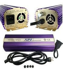 SPL High Output  600W Watt HPS MH Digital Dimmable Ballast 99.9% Power Factor