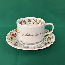 Astrology Zodiac Cup And Saucer By International Collectors Guild Fortune