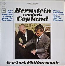 COPLAND: Piano Concerto/Music for the Theatre-M1965LP COPLAND, Piano/BERNSTEIN