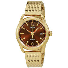 Citizen Drive Rose Gold Tone Stainless Steel Ladies Watch FE6083-56X