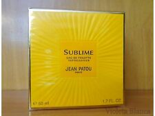 Eau de toilette spray SUBLIME de Jean Patou. Old formula. NUEVO / NEW, sealed