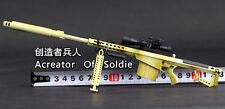 Mini Toys 1:6 Scale US Barrett M107A1 Full Metal Heavy Sniper Rifle Desert Color