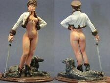 tin toy soldiers ELITE painted Pegaso Girl 80mm the Russian Girl