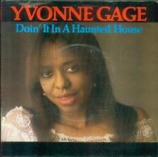 "7"" Yvonne Gage/Doin´ It In A Haunted House (NL)"