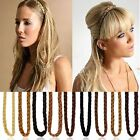 Women Synthetic Hair Band Plaited Plait Elastic Bohemia Braids Headband Hairband