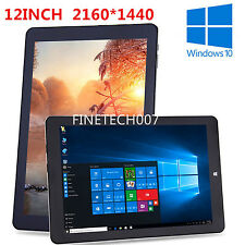 "Pro 12"" 2160*1440 64GB+4GB Chuwi Hi12 Windows10 Android5.1 Tablet PC Ultrabook D"