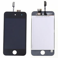 Black LCD Digitizer Glass Screen Assembly for Ipod Touch 4 4th Gen Replacement