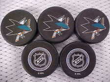 2016 NHL San Jose Sharks National Hockey League Mini Puck Charms Lot of (5)