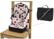 Travel Dining Feeding Baby Chair Portable Folding Booster Seat Safety Harness