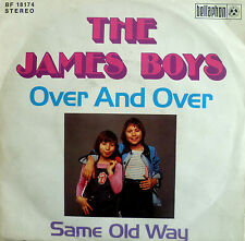 "7"" 1973 KULT ! THE JAMES BOYS : Over And Over // VG+ \"