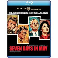PRE ORDER: SEVEN DAYS IN MAY -   BLU RAY - Sealed Region free for UK