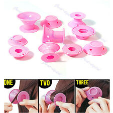 10pcs Hairstyle Soft Hair Care DIY Peco Roll Hair Style Roller Curler Salon
