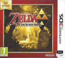 THE LEGEND OF ZELDA A LINK BETWEEN WORLDS for Nintendo 3DS - with box & manual