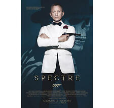 "JAMES BOND 007 POSTER ""SPECTRE"" LICENSED ""COVER""  BRAND NEW ""SIZE 61cm X 91.5cm"""