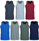 Mens Big Size Muscle Vest Summer T Shirt Sleeveless Top Pure Cotton