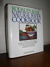 Rodale's Basic Natural Foods Cookbook by Charles Gerras (1994, Hardcover,DJ)