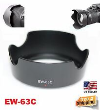New EW-63C  Lens Hood  for Canon EF-S 18-55mm f/3.5-5.6 IS STM