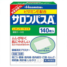 Hisamitsu SALONPAS Ae 140 patches in Bulk Packs (NO BOX) F/S Original from Japan