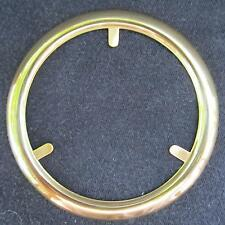 Brass Trim Ring for glass ball shade/ oil lamp banquet old gwtw