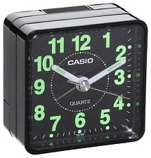 Casio TQ-140 Black Compact Travel Beep Alarm Clock