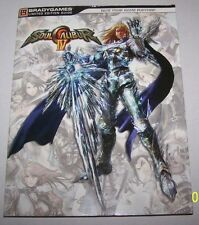 SOUL CALIBUR IV/4 LIMITED EDITION BRADYGAMES OFFICIAL STRATEGY GUIDE w/SOUNDTRAC