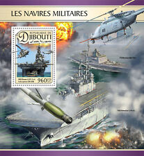 Djibouti 2016 MNH Military Ships USS Essex Helicopters CH-53E 1v S/S Stamps