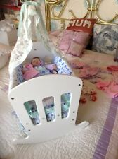 Ashton Drake Doll Tiny Miracle 10 Inch EMMY& £55 Clothes & ooak Crib By ANNAMAY