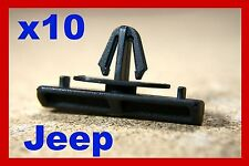 10 JEEP GRAND CHEROKEE LIBERTY CHRYSLER d'effets de sol moulage clips