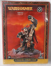 "Warhammer Fantasy ""Throgg the Troll King"" Warriors of Chaos Beastmen OOP NIB"