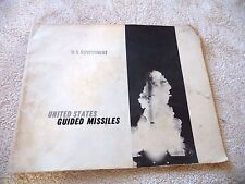 UNITED STATES GUIDED MISSILES SS-11 NIKE - AJAX TARTAR SPARROW III GAR 11 1963