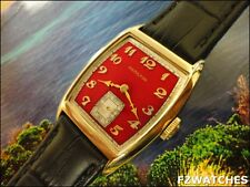 Exquisite Vintage 1946  Mans Hamilton *HOWARD* Hand Winding 2Tone Dial SERVICED!