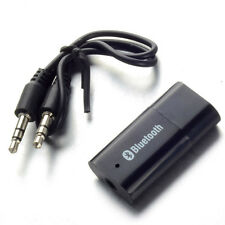 Wireless USB Bluetooth Music Audio Receiver Adapter 3.5mm Dongle Home Car SP2G