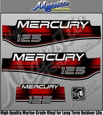 MERCURY 125hp - OUTBOARD DECALS