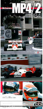 MF HIRO McLAREN MP4/2 LAUDA PROST 1984 REF PICTURE BOOK for AOSHIMA FUJIMI HIRO