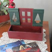 Decorative PINE TREE WINDOW BOX Flower Planter LODGE DECOR Mail Box