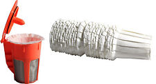 Keurig 2.0 Refillable Orange K-Carafe and Paper Coffee Filter Starter 30 Packs