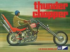 MPC 1:8 Thunder Chopper Custom Motorcycle Model Kit MPC835