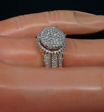 Ladies 10K Yellow Gold Beautiful Ring With 0.40CT Diamond/ Engagement, Bridal