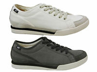 MENS CATERPILLAR CAT JED CANVAS CASUAL LACE UP TRAINERS SHOES SIZE UK 6-11 NEW