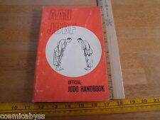 1966 JUDO handbook AAU JBBF over 300 pages photos of champions Japan